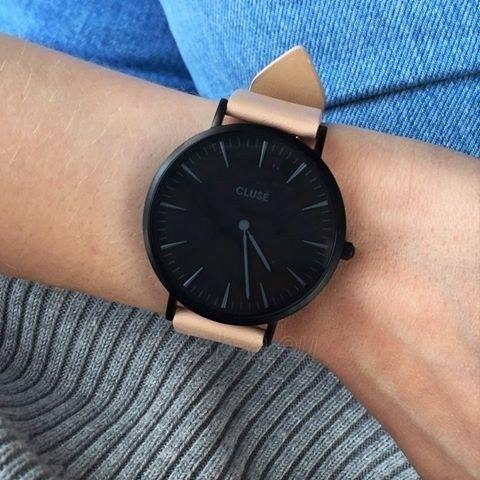 Laikrodis Cluse La Bohème Black Black/Nude Paveikslėlis 4 iš 5 310820112983