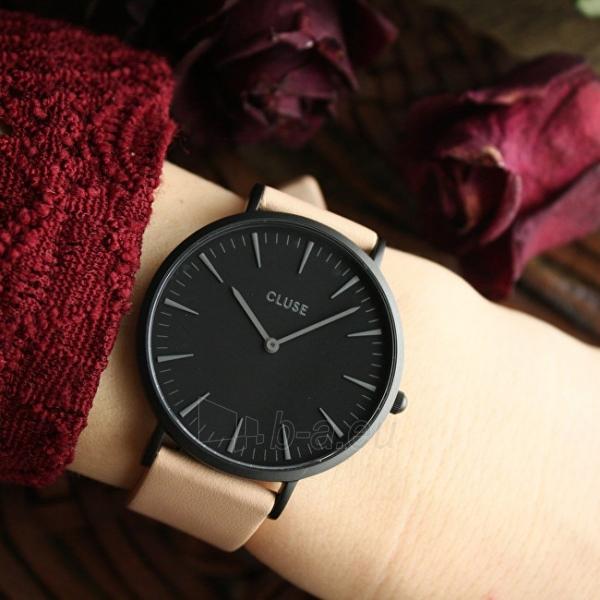 Laikrodis Cluse La Bohème Black Black/Nude Paveikslėlis 5 iš 5 310820112983