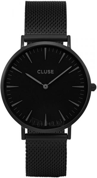 Laikrodis Cluse La Bohème Mesh Full Black Paveikslėlis 2 iš 9 310820112708