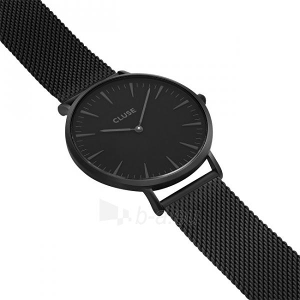 Laikrodis Cluse La Bohème Mesh Full Black Paveikslėlis 3 iš 9 310820112708