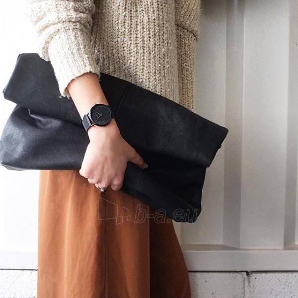 Laikrodis Cluse La Bohème Mesh Full Black Paveikslėlis 6 iš 9 310820112708