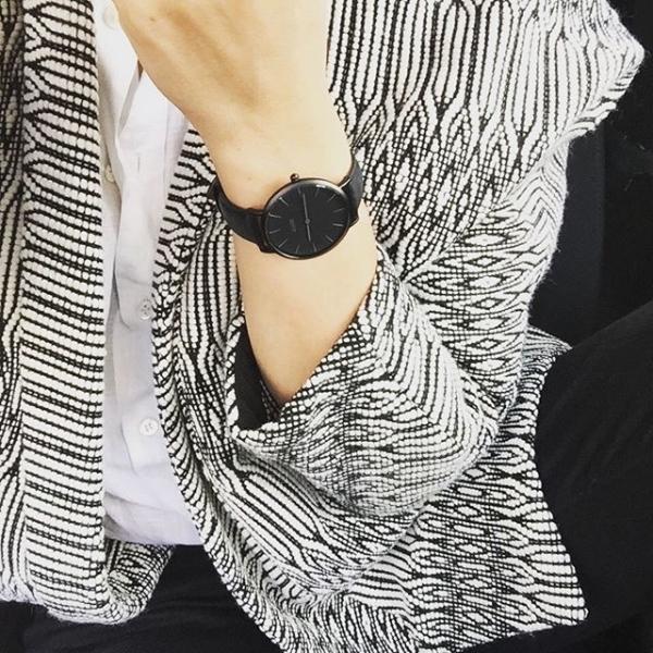 Laikrodis Cluse La Bohème Mesh Full Black Paveikslėlis 8 iš 9 310820112708