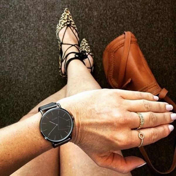 Laikrodis Cluse La Bohème Mesh Full Black Paveikslėlis 9 iš 9 310820112708