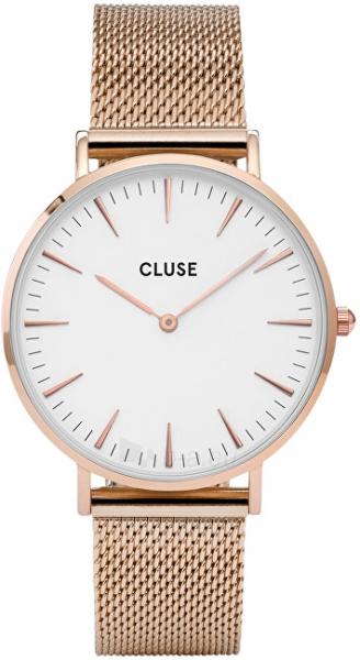 Laikrodis Cluse La Bohème Mesh Rose Gold/White Paveikslėlis 1 iš 9 310820112707