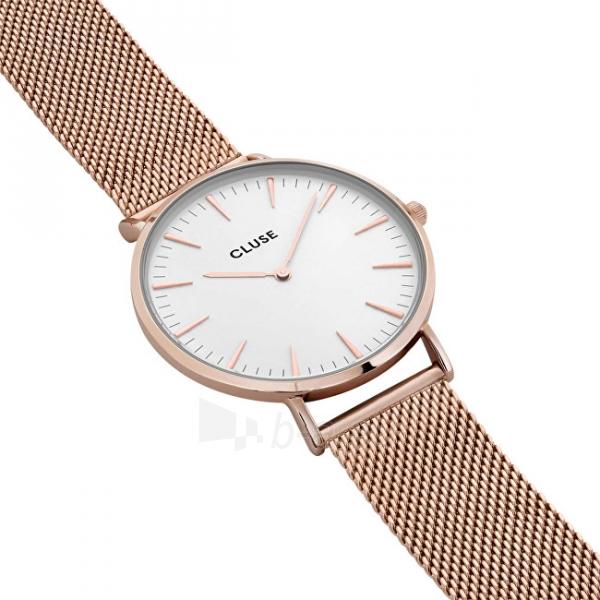 Laikrodis Cluse La Bohème Mesh Rose Gold/White Paveikslėlis 3 iš 9 310820112707