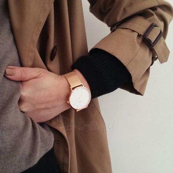 Laikrodis Cluse La Bohème Mesh Rose Gold/White Paveikslėlis 8 iš 9 310820112707