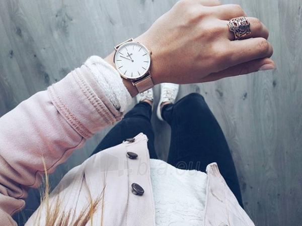 Laikrodis Cluse La Bohème Mesh Rose Gold/White Paveikslėlis 9 iš 9 310820112707