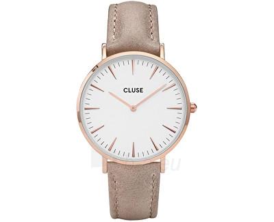 Laikrodis Cluse La Bohème Rose Gold White/Hazelnut Paveikslėlis 1 iš 1 310820113251