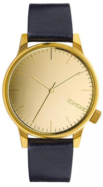 Laikrodis Komono WinstonMirror Gold/Navy KOM-W2891 Paveikslėlis 1 iš 4 310820110636