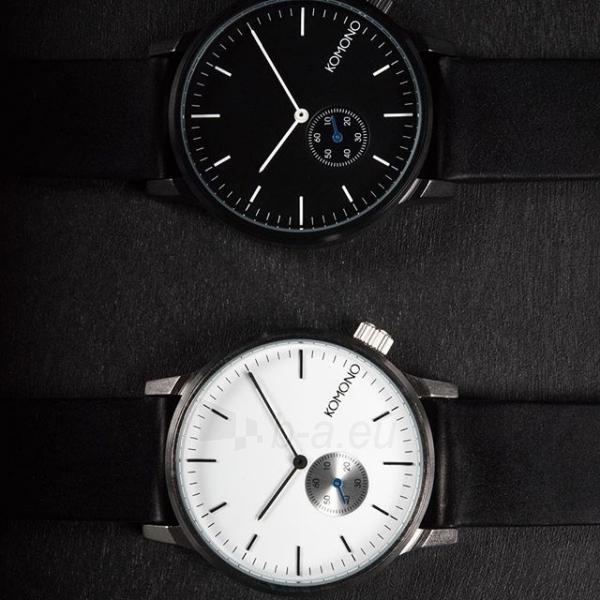 4dd69c8c1 Laikrodis Komono Winston Subs BLACK KOM-W3002 Paveikslėlis 1 iš 5  310820111263