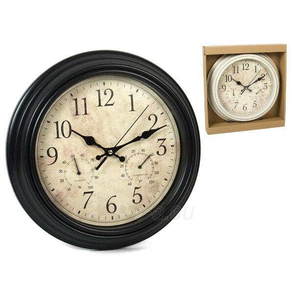 Laikrodis plast. sieninis 30cm Paveikslėlis 1 iš 1 310820104055
