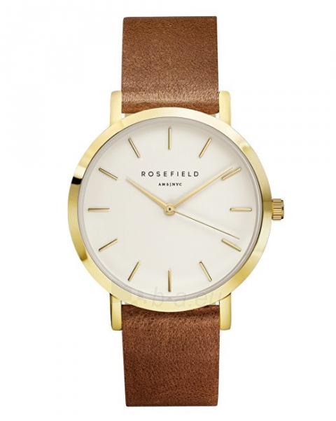 Laikrodis Rosefield THE GRAMERCY White Brown Gold Paveikslėlis 1 iš 5 310820110398