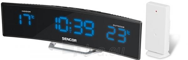 Laikrodis Sencor Budík s teploměrem SWS 212 RC Paveikslėlis 1 iš 1 30100800945