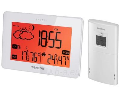 Laikrodis Sencor Meteostanice SWS 165 Paveikslėlis 1 iš 1 30100800947