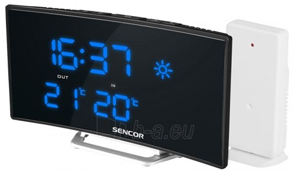 Laikrodis Sencor Meteostanice SWS 215 Paveikslėlis 1 iš 1 30100800948