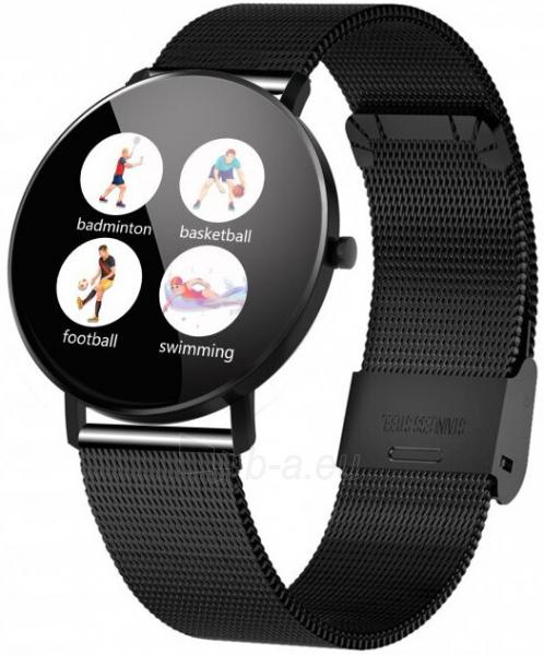 Laikrodis VeryFit F25 DIX01 BLACK Paveikslėlis 2 iš 3 310820220774