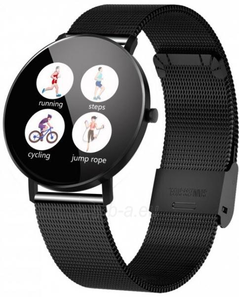 Laikrodis VeryFit F25 DIX01 BLACK Paveikslėlis 3 iš 3 310820220774