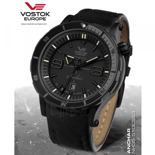 Laikrodis Vostok Europe Anchar NH35A-510C553 Paveikslėlis 6 iš 7 310820174912