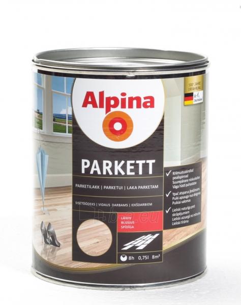 Lakas Alpina Parkettlack gl@0.75 Paveikslėlis 1 iš 1 236590000245