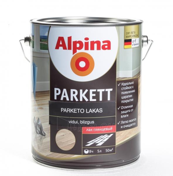 Lakas Alpina Parkettlack gl N 5 Paveikslėlis 1 iš 1 236590000243