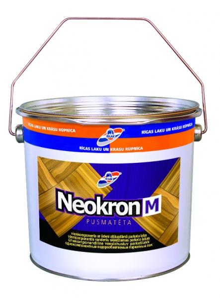 Lakas NEOKRON M parket. pus. matinis  2.7L Paveikslėlis 1 iš 1 236590000212