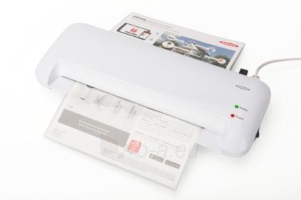 Laminavimo aparatas EDNET A4, 400mm/min., 80-125 micron, white Paveikslėlis 5 iš 6 310820096684