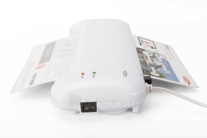 Laminavimo aparatas EDNET A4, 400mm/min., 80-125 micron, white Paveikslėlis 6 iš 6 310820096684