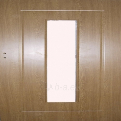 Laminated interior doors MG-DOORS 2050x720x40 mm (full), oak, with space for glass Paveikslėlis 1 iš 1 237930400067