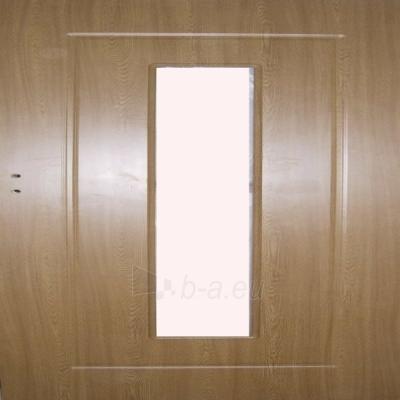 Laminuotos vidaus durys MG-DOORS 2050x820x40 mm kairinės, (pilnos), ažuolo sp., su vieta stiklui Paveikslėlis 1 iš 1 237930400065