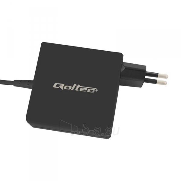 Laptop AC maitinimo šaltinis Qoltec 65W | 3.42A | 19V | 5.5x2.5 Paveikslėlis 3 iš 4 310820027390