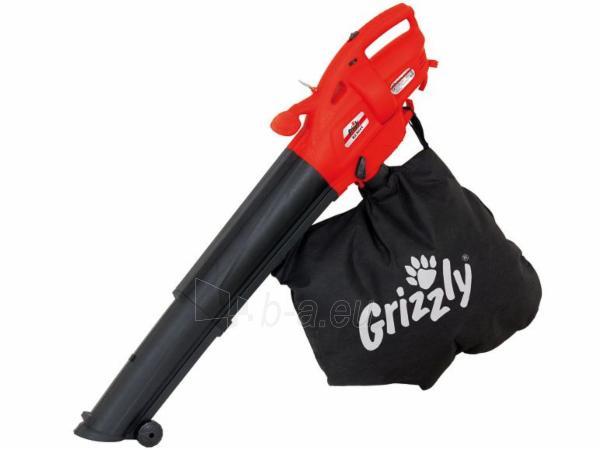 Lapų pūstuvas/siurblys 2600W Grizzly ELS 2614-2 E Paveikslėlis 1 iš 2 268904000044