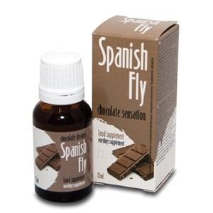 Lašai JAM ir JAI Spanish Fly Chocolate Sensation 15ml Paveikslėlis 1 iš 1 310820021936