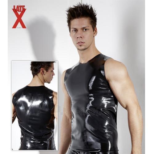 Lateksiniai marškinėliai Antra oda L Paveikslėlis 1 iš 2 310820030562