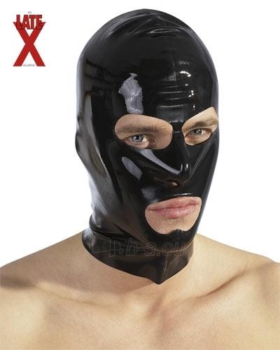 Latex head mask Paveikslėlis 1 iš 1 25140919000037