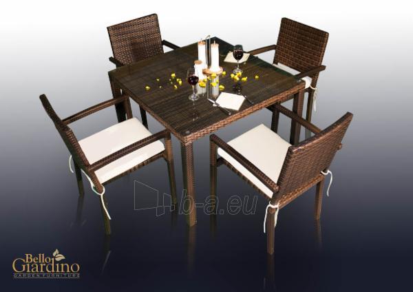 Lauko baldų komplektas ADORAZIONE Paveikslėlis 1 iš 8 250402300019