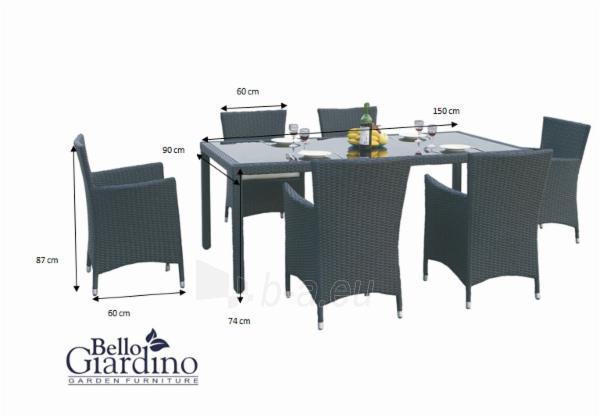 Lauko baldų komplektas CAPITALE Paveikslėlis 8 iš 16 250402300016