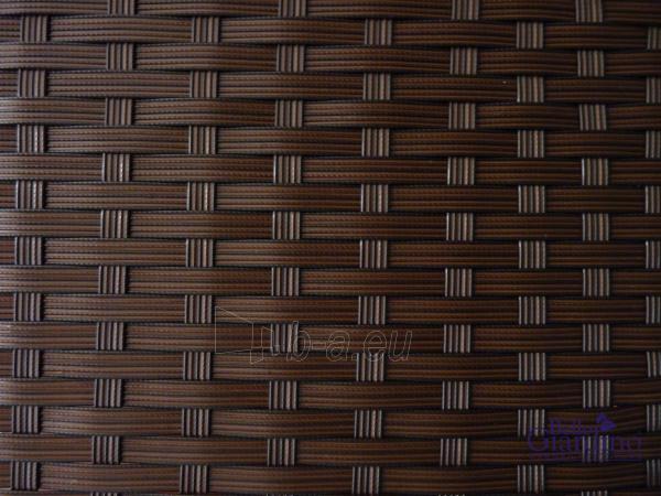 Lauko baldų komplektas COMODO tamsiai rudas Paveikslėlis 11 iš 14 310820072883