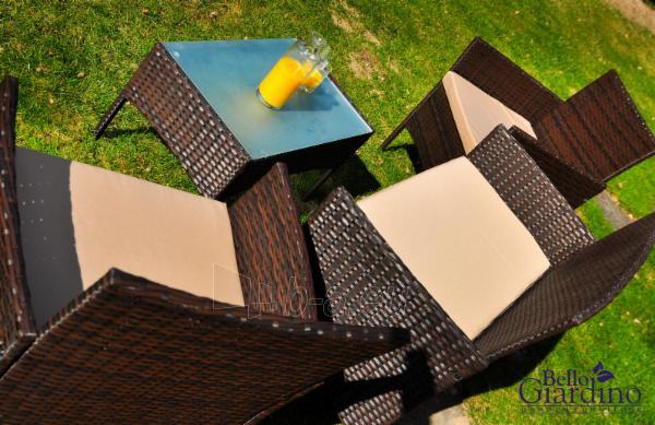 Lauko baldų komplektas COMODO tamsiai rudas Paveikslėlis 6 iš 15 310820072883