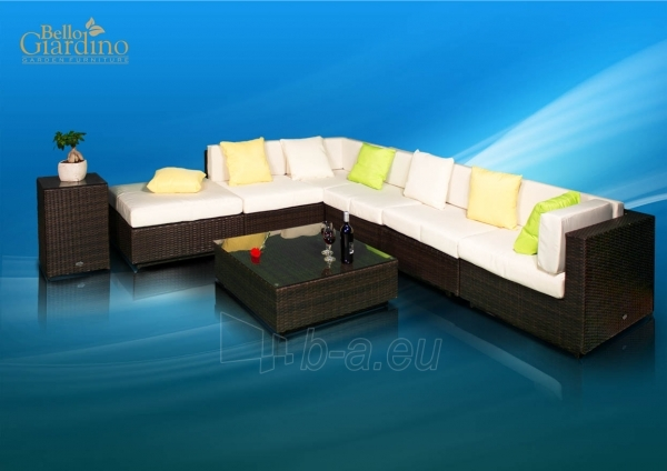 Lauko baldų komplektas LUSSO Paveikslėlis 1 iš 8 250402300013