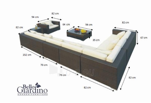 Lauko baldų komplektas MAGNIFICO Paveikslėlis 4 iš 10 250402300023