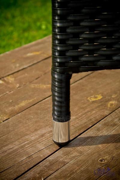 Lauko baldų komplektas POCO juodas 003 Paveikslėlis 7 iš 8 250402300069