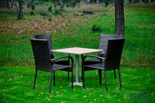 Lauko baldų komplektas QUATTRO rudas 001 Paveikslėlis 1 iš 8 250402300070