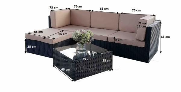 Lauko baldų komplektas TINTO Paveikslėlis 14 iš 58 250402300040