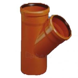 Lauko kanalizacijos trišakis Magnaplast KGEA, d 250, 45* Paveikslėlis 1 iš 1 270512000150