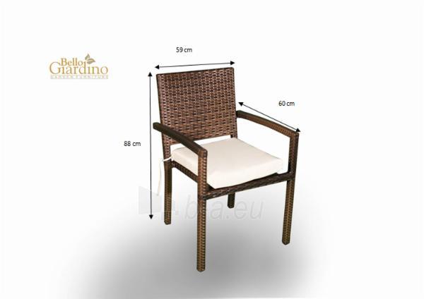 Lauko kėdė MS004 Adorazione Paveikslėlis 2 iš 8 250402200034