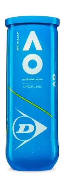 Lauko teniso kamuoliukai DUNLOP AUSTRALIAN OPEN 3vnt. Paveikslėlis 1 iš 1 310820217603