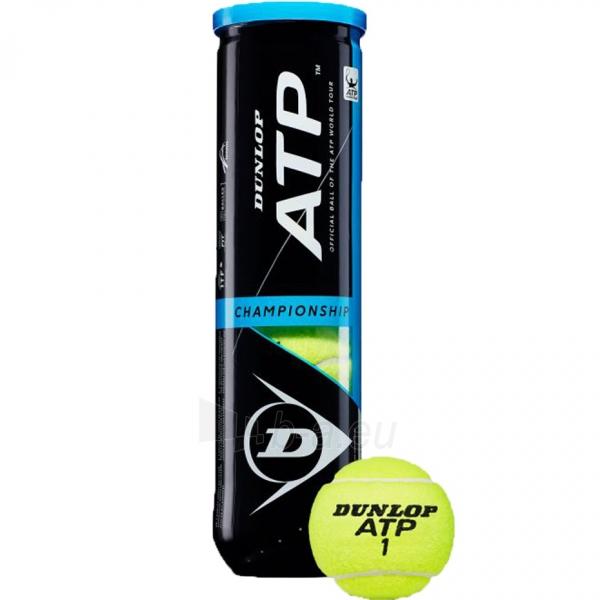 Lauko teniso kamuoliukai Dunlop Championship 4 vnt Paveikslėlis 1 iš 2 310820219965