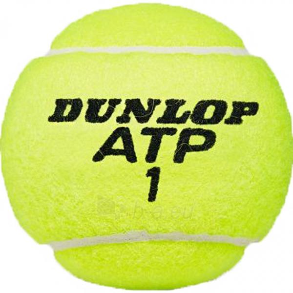 Lauko teniso kamuoliukai Dunlop Championship 4 vnt Paveikslėlis 2 iš 2 310820219965