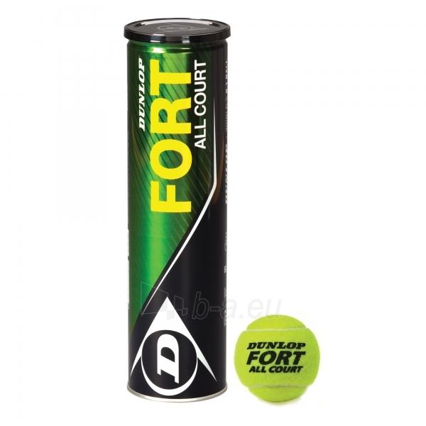Lauko teniso kamuoliukai Dunlop Fort All Court. 4vnt Paveikslėlis 1 iš 1 310820040177