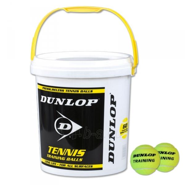 Lauko teniso kamuoliukai Dunlop TRAINING 60-bucket Paveikslėlis 1 iš 1 310820040059